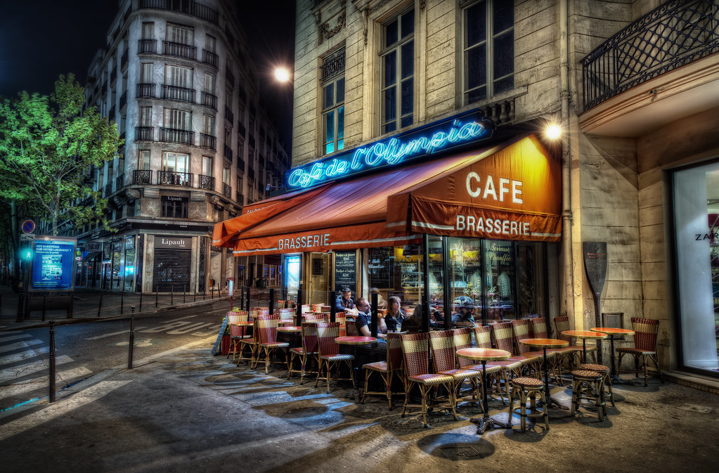 Brit's Favorite Parisian Cafe