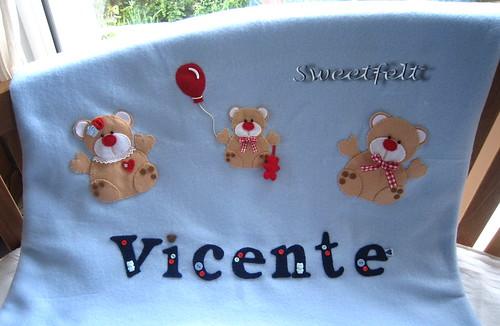 ♥♥♥  Vicente ... by sweetfelt \ ideias em feltro