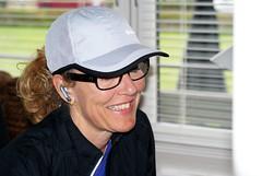 Tina plans a running route on Google maps (osto) Tags: portrait denmark europa europe exercise sony zealand tina dslr workout scandinavia danmark a300 sjlland  nrum osto rudersdal may2011 alpha300 osto