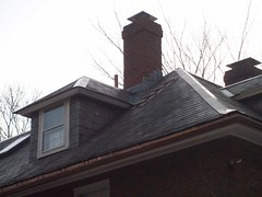 Chimney Rebuild and Lead Flashing (GF Sprague) Tags: chimney boston ma belmont cap flashing brookline newton rebuild weston repairs repoint