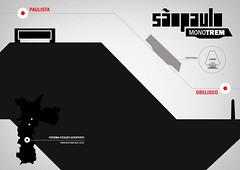 """Infogrfico """"Monotrem em So Paulo (luanandrade) Tags: design trem bacteria desenho curso infographic panamericana infografia infograph informao infografico"""