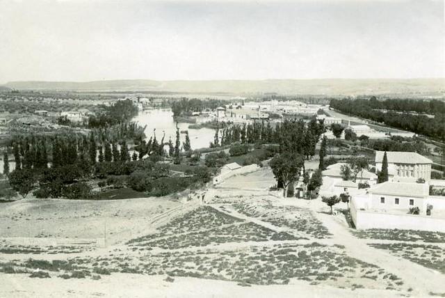 Basílica del Cristo de la Vega en junio de 1905. Fotógrafo anónimo. Colección Luis Alba. Ayuntamiento de Toledo