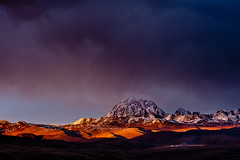 """Rare Light Over the Tibetan Plateau"" ~ ""A tale of near death in Tibet"" (Dan Ballard Photography) Tags:"