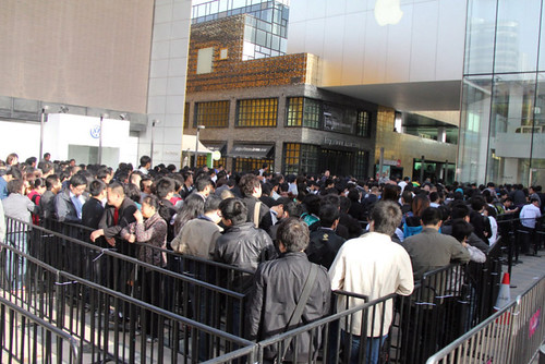 iPad 2 launch in China