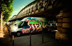 Omt Ter (Vergio Graffito) Tags: street paris truck graffiti metro camion graff ter omt katre taroe tarow