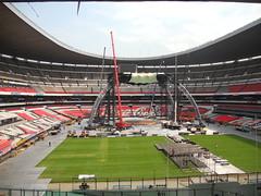 Quinto día de montaje - Estadio Azteca 37