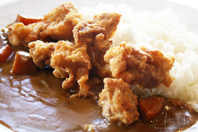 Chicken Karaage Curry, Daruma
