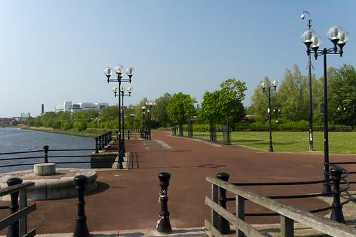 Belfast City - A Walk Along The River Lagan