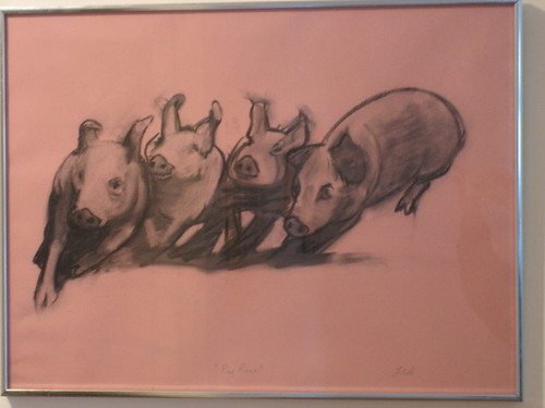 """Pig Race"" by Frank Lind"