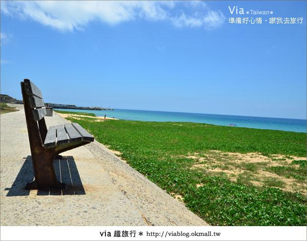 【澎湖沙灘】山水沙灘,遇到菊島的夢幻海灘!28