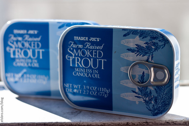 Trader Joe's Canned Trout
