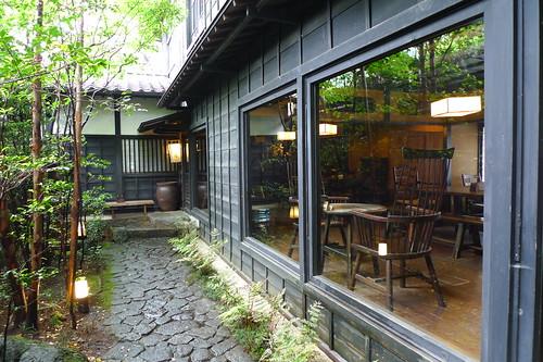 茶房・糸屋 エントランス