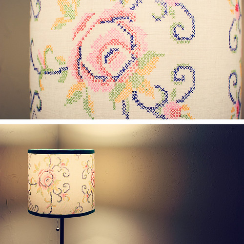 diptych: lamp light