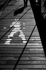 I'll be your mirror (Pensiero) Tags: nyc ny newyork man walking shadows walk streetphotography ombre uomo workshop camminare