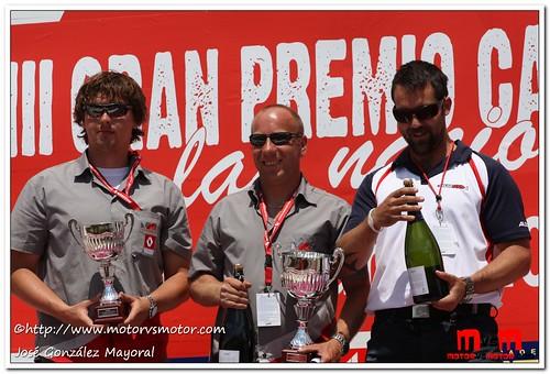 Podium por equipos 1ª Carrera