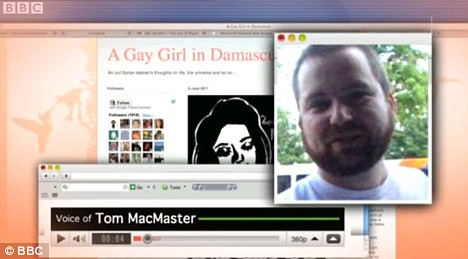 Gay Girl in Damascus Revealed