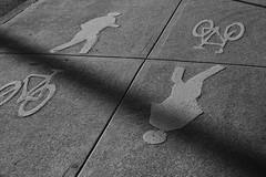 Footpath (Baba Blue) Tags: blackandwhite sydney footpath