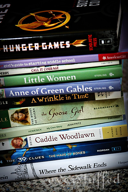 Summer reading list for 11 year old girl entering 6th grade