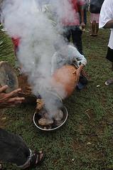 Flexing the drum heads with heat and smoke - Sao Joao festival in Goa (Anoop Negi) Tags: portrait india feast religious photography for boat photo san media image photos spirit delhi indian bangalore goa creative culture images best christian celebration indie po ritual mumbai sao festivities portuguese anoop indien joao jao inde feni negi traditiona  sharma  goan ndia photosof  siolim   intia  n bestphotographer   pameal imagesof anoopnegi     jjournalism shiolim  ndia n indi