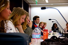 Students Listen Intently (School of Professional & Extended Studies) Tags: students washingtondc dc speaker alumni expert wsp wpd councilonforeignrelations internationalaffairs washingtonsemesterprogram washingtonsemester