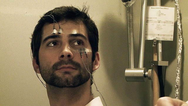 Rich - a US Iraq veteran gets his brain scanned in Richard Dav