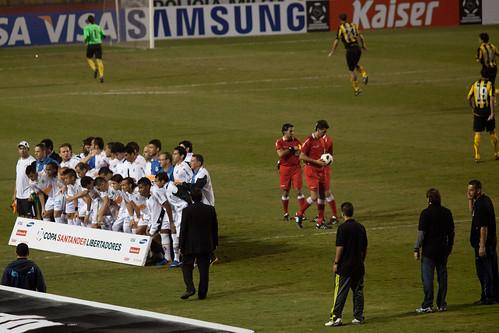 Copa Libertadores de America 2011   Santos  - Peñarol   110623-7594-jikatu