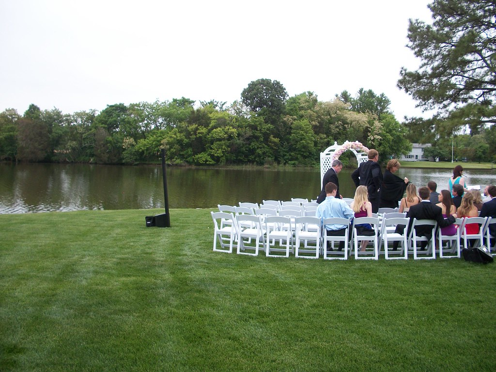wedding at the Oaks in St. Michaels, Maryland wedding DJ, Chris Laich Music Services, Eastern Shore wedding