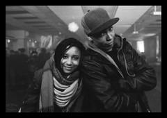 nels and maria (Cécilia Karila FAGON) Tags: party white black underground word dj noir maria bangkok nelson strasbourg et avril blanc dmc argentique 2014 fernandes