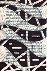 Cold soul (Jo in NZ) Tags: foundtext foundpoetry zentangle nzjo coldsoul