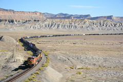 Utah (Ayar Talore) Tags: utah desert railraod bnsf ge