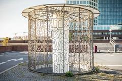 Deichtorhallen (frank-hl) Tags: 1635mm bokeh gelnder hamburg outdoor schriftzug stadtlandschaft urban zaun