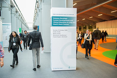 advertisment_announcers 011 (European Society for Medical Oncology) Tags: esmo esmo16 day3 advertising billboards