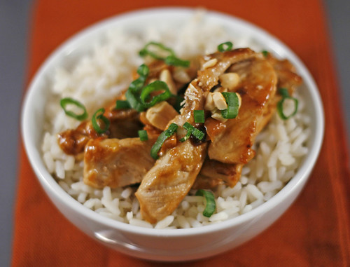Quick Pork and Peanut Stir-Fry