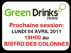 Session GREEN DRINKS PARIS 4 AVRIL 2011