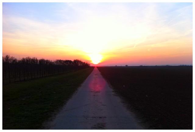 81.3/365 On the Road to Heaven - Vorausgesetzt, ein paar Millionen Grad bringen einen in den Himmel ;-)