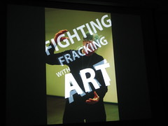 fighting fracking with art