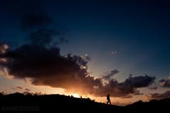 caper (gobo_x (marimba)) Tags: sf sanfrancisco california sunset people cloud beach landscape coast pentax dunes voigtlander 20mm k7 ggnpc11 colorskoparslii