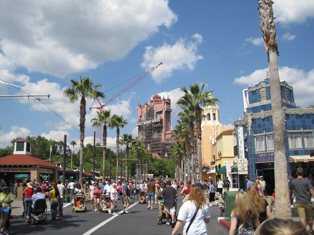 The Tower of Terror at Hollywood Studios at Disney World