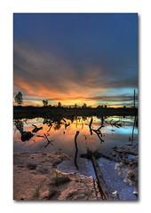 mudme lake @ skudai (Johor) (imbloggerash) Tags: sunset lake beautiful landscape lights mud abandon constructionsite johor quicksand mudme skudai