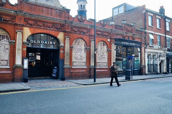 Old Dairy pub in Hornsey