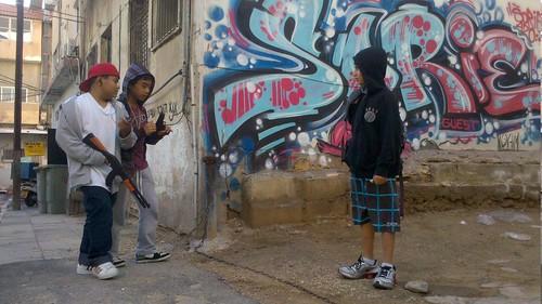 Street gang @ the Kerem 2011