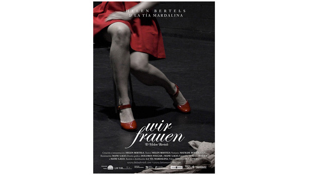 cartel Wir Frauen - Diseñadora: Dolores Folgar