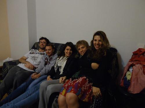 Friends in Spain