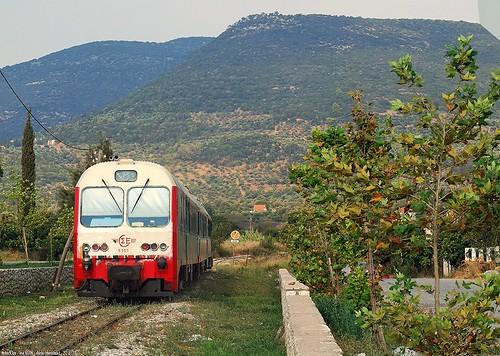 (ose - hellenic railways)  ose 6506 a dorio (spap - athens pireus peloponnese line)