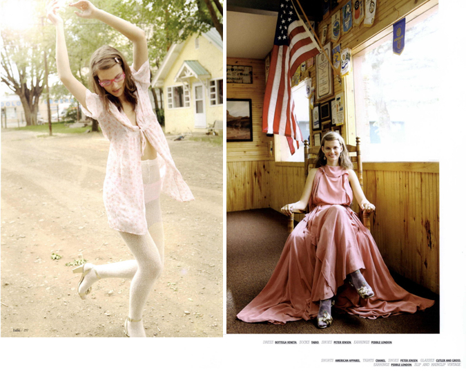Think Pink: Lula Magazine Editorial Spring 2011