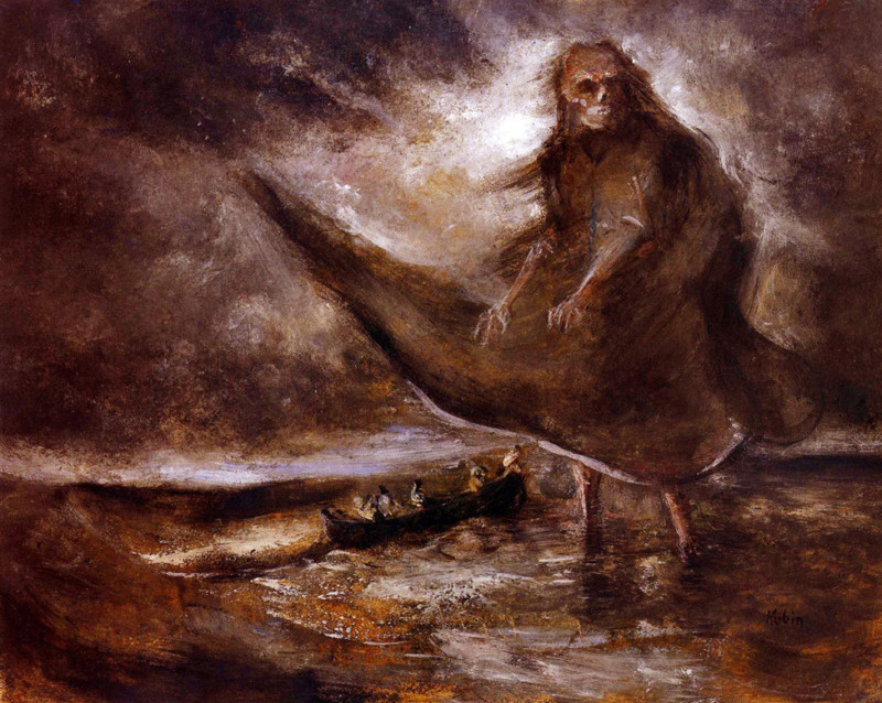 Alfred Kubin - Spectre Of The Sea