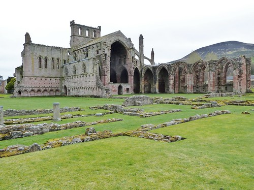Melrose Abbey, Borders Region