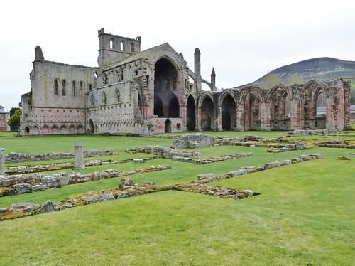 Melrose Abbey, Borders Region