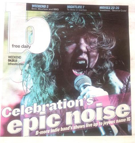 "celebration ""B"" cover"