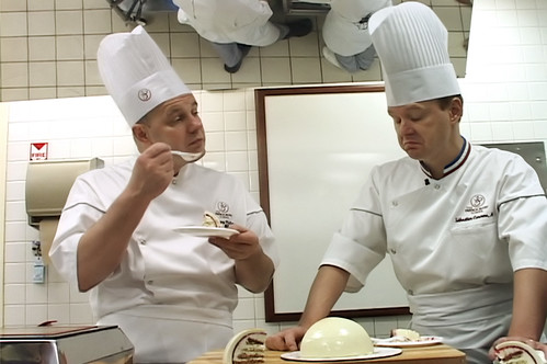 Chef Jacquy Pfeiffer and Chef Sebastien Canonne